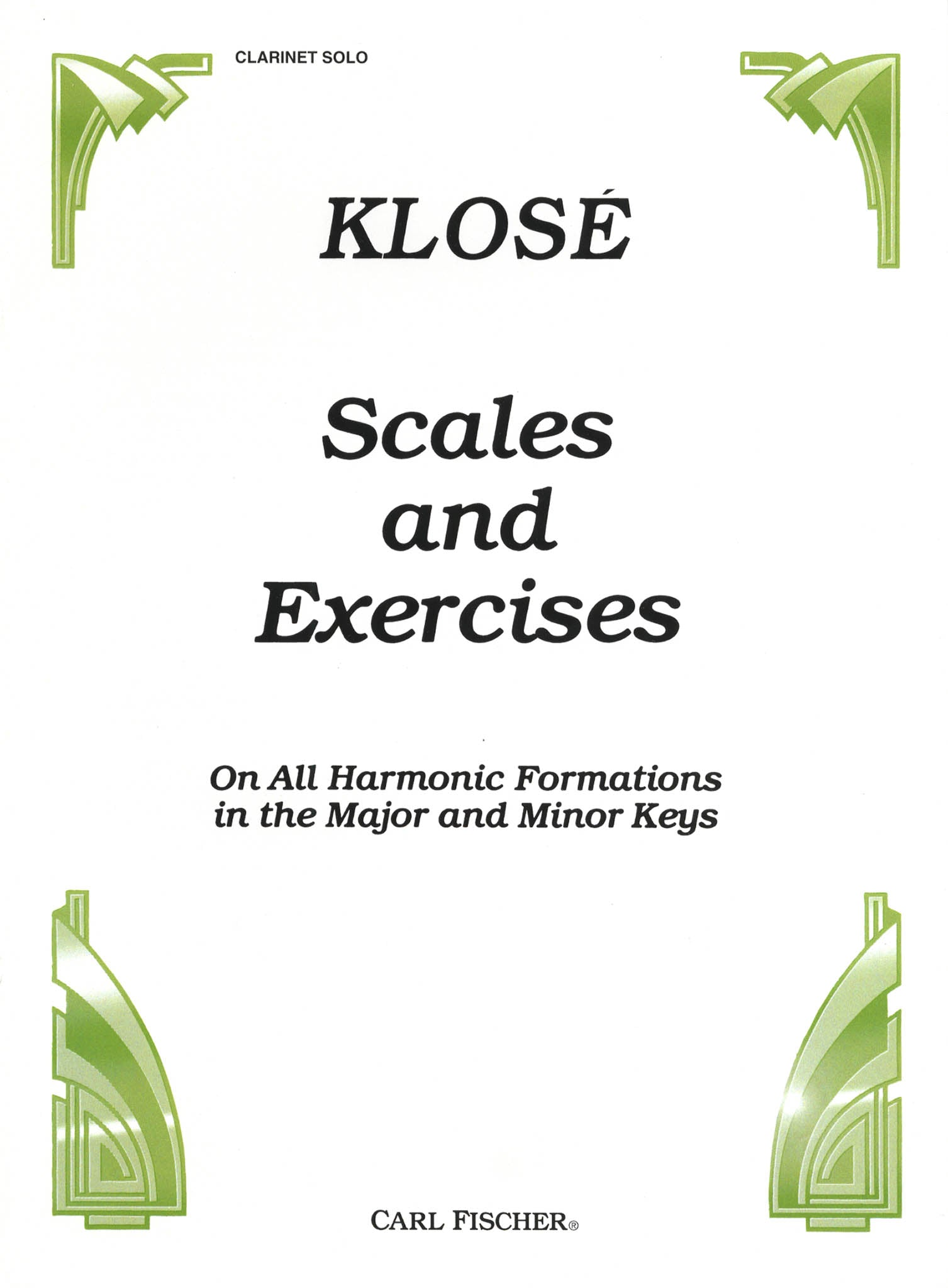 Scales and Exercises Cover