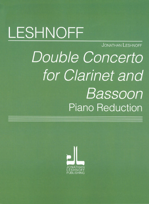 Leshnoff Double Concerto Cover