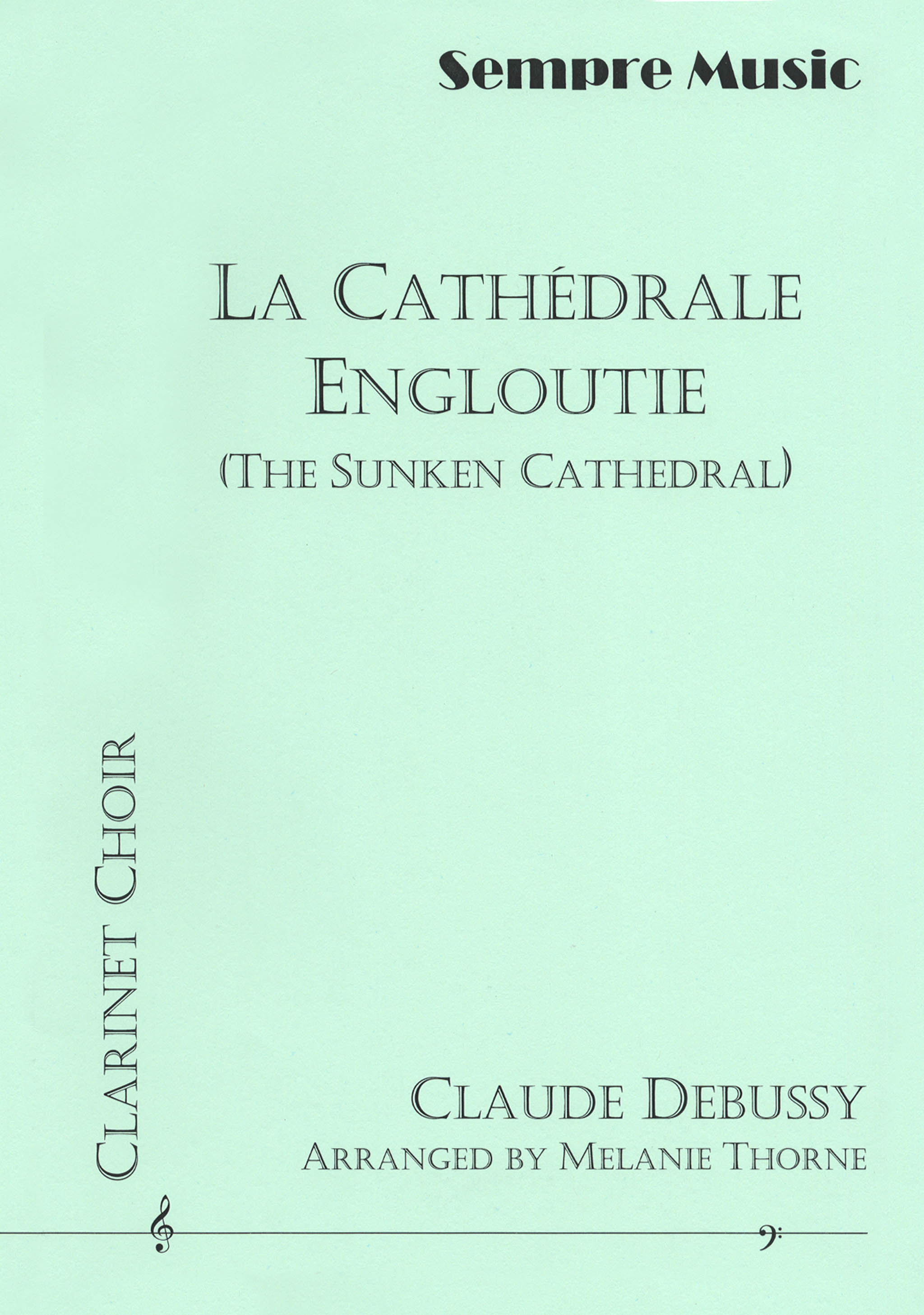 La Cathédrale engloutie (Sunken Cathedral) Cover