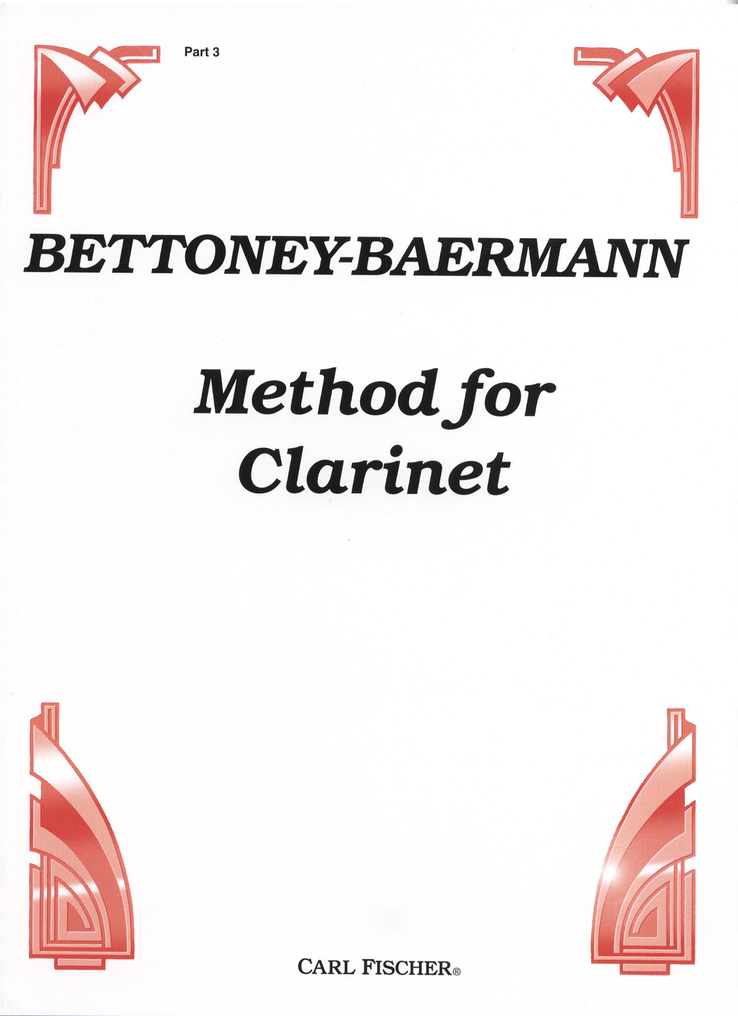 Complete Clarinet Method, Op. 63: Division 3 (Daily Studies) Cover