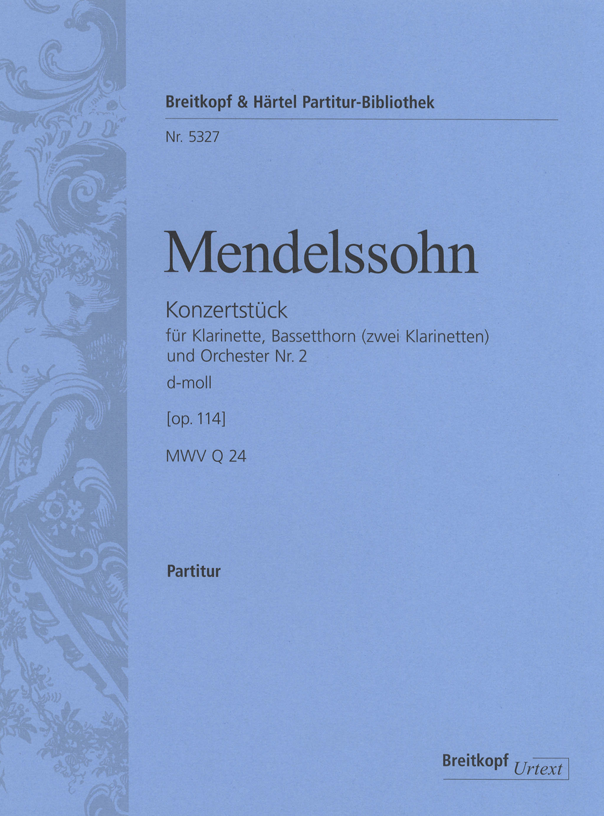 Mendelssohn Concert Piece No. 2 in D Minor, Op. 114 Cover