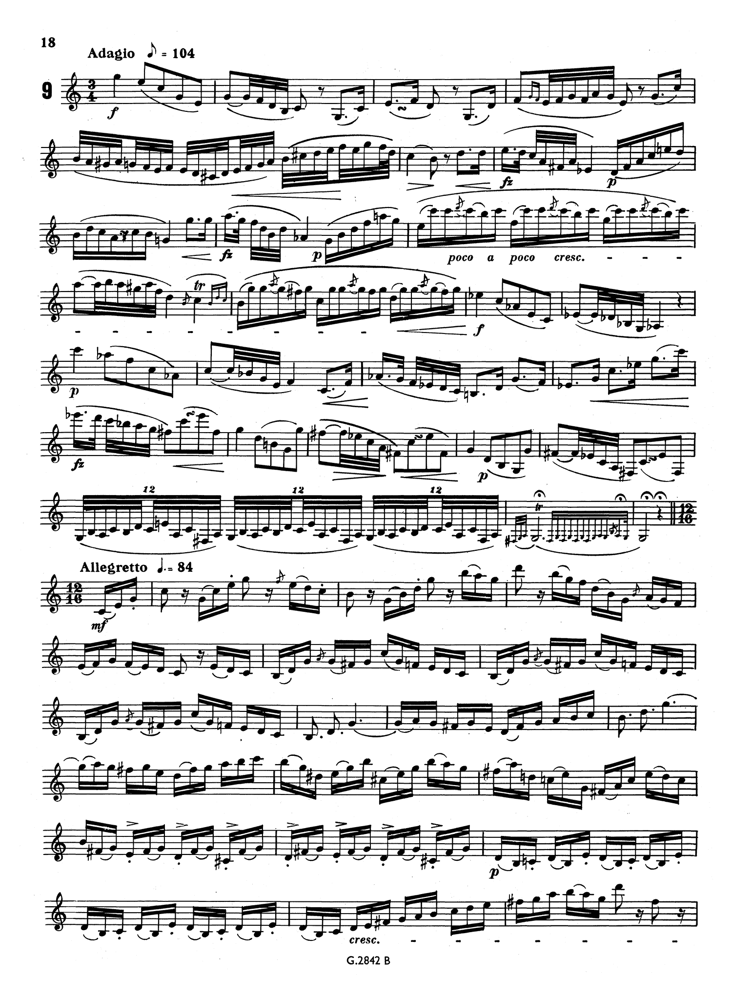 20 Great Etudes from Rode Page 18