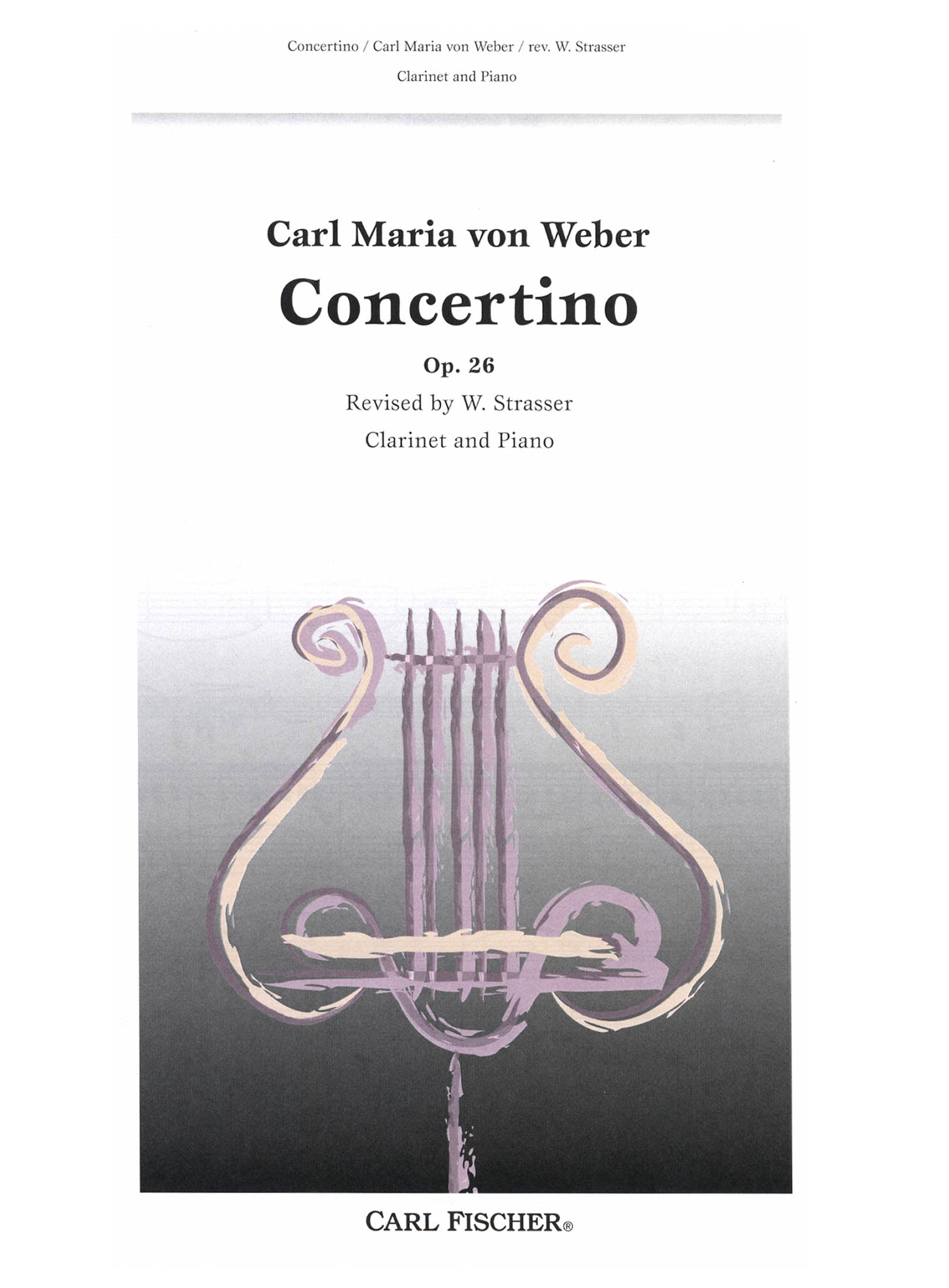 Concertino, Op. 26 Cover
