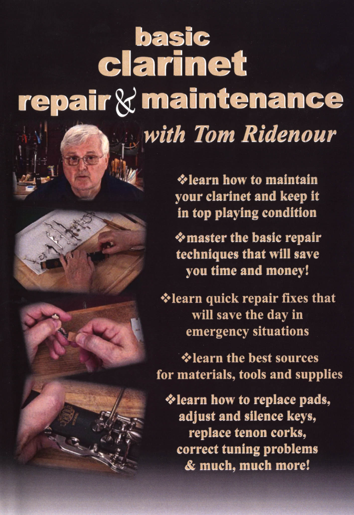 Basic Clarinet Maintenance with Thomas Ridenour Cover