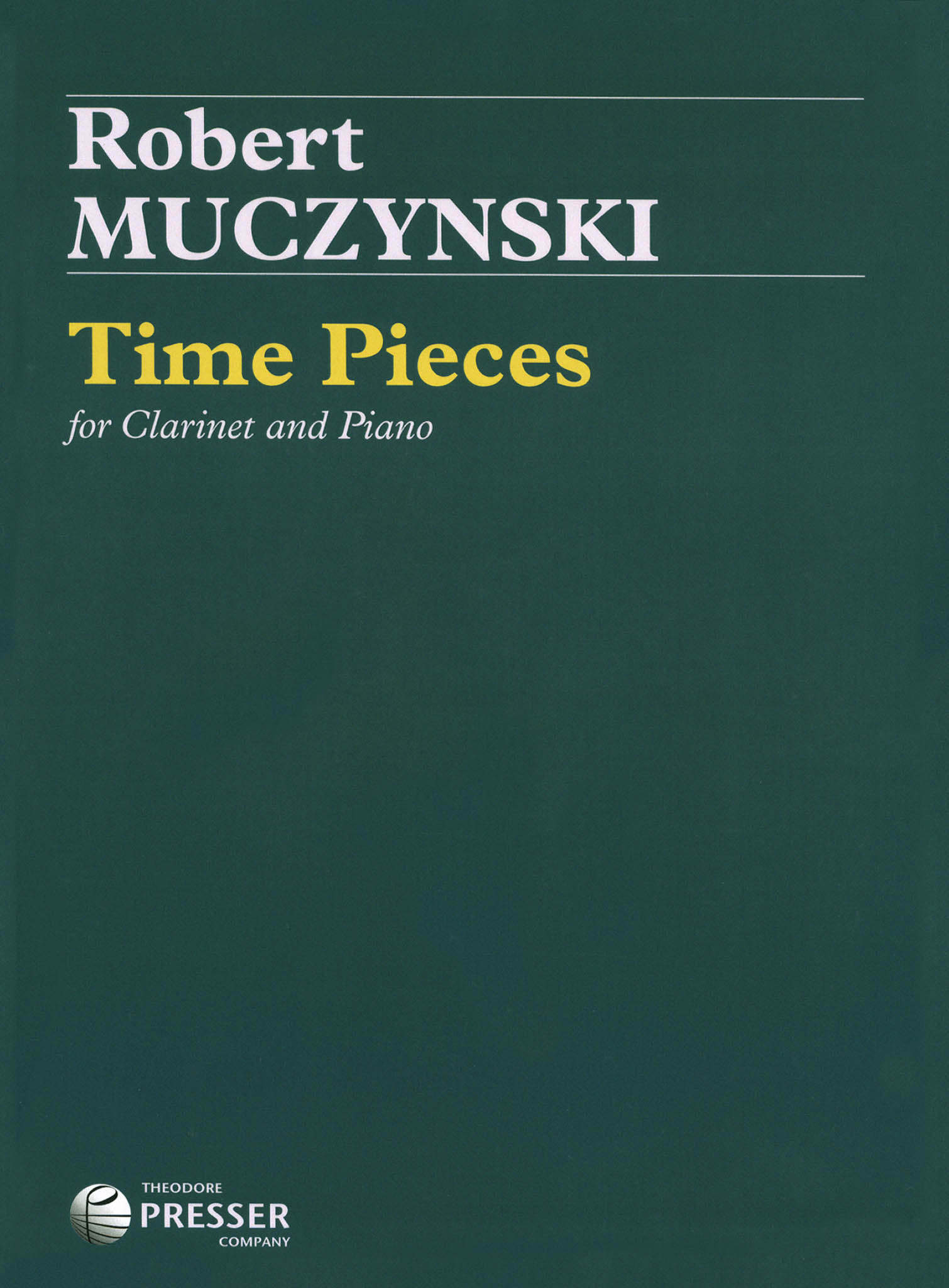 Time Pieces, Op. 43 Cover