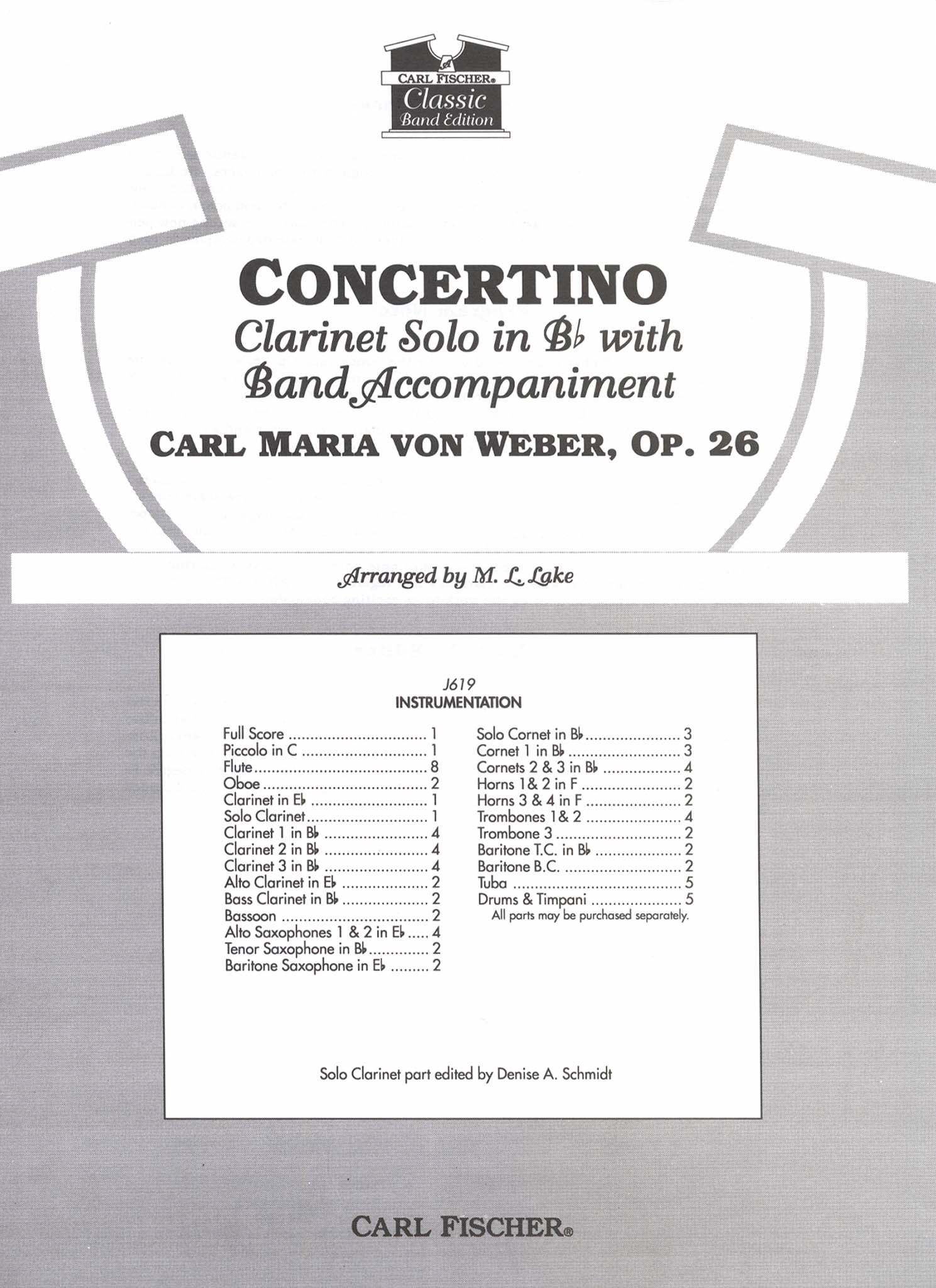 Weber, Carl Maria von_Concertino in E-flat Major, Op. 26, J. 109