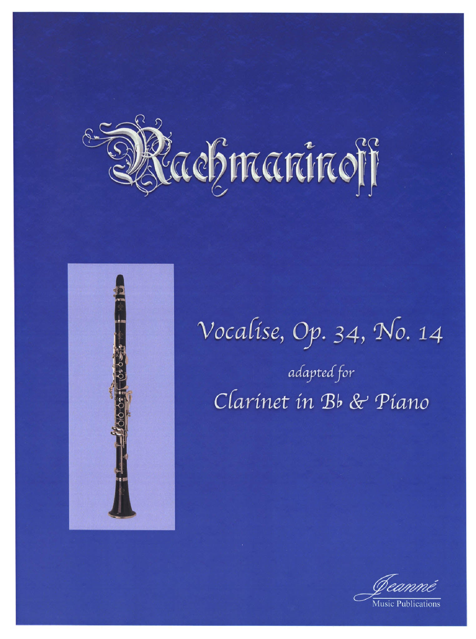 Rachmaninoff Vocalise Op. 34 No. 14 Cover