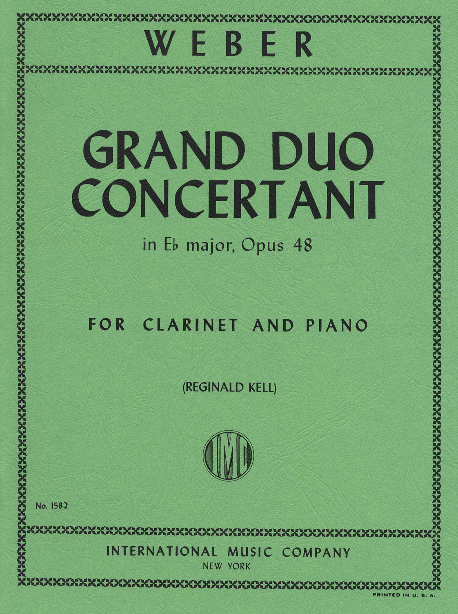 Grand Duo Concertant, Op. 48 Cover