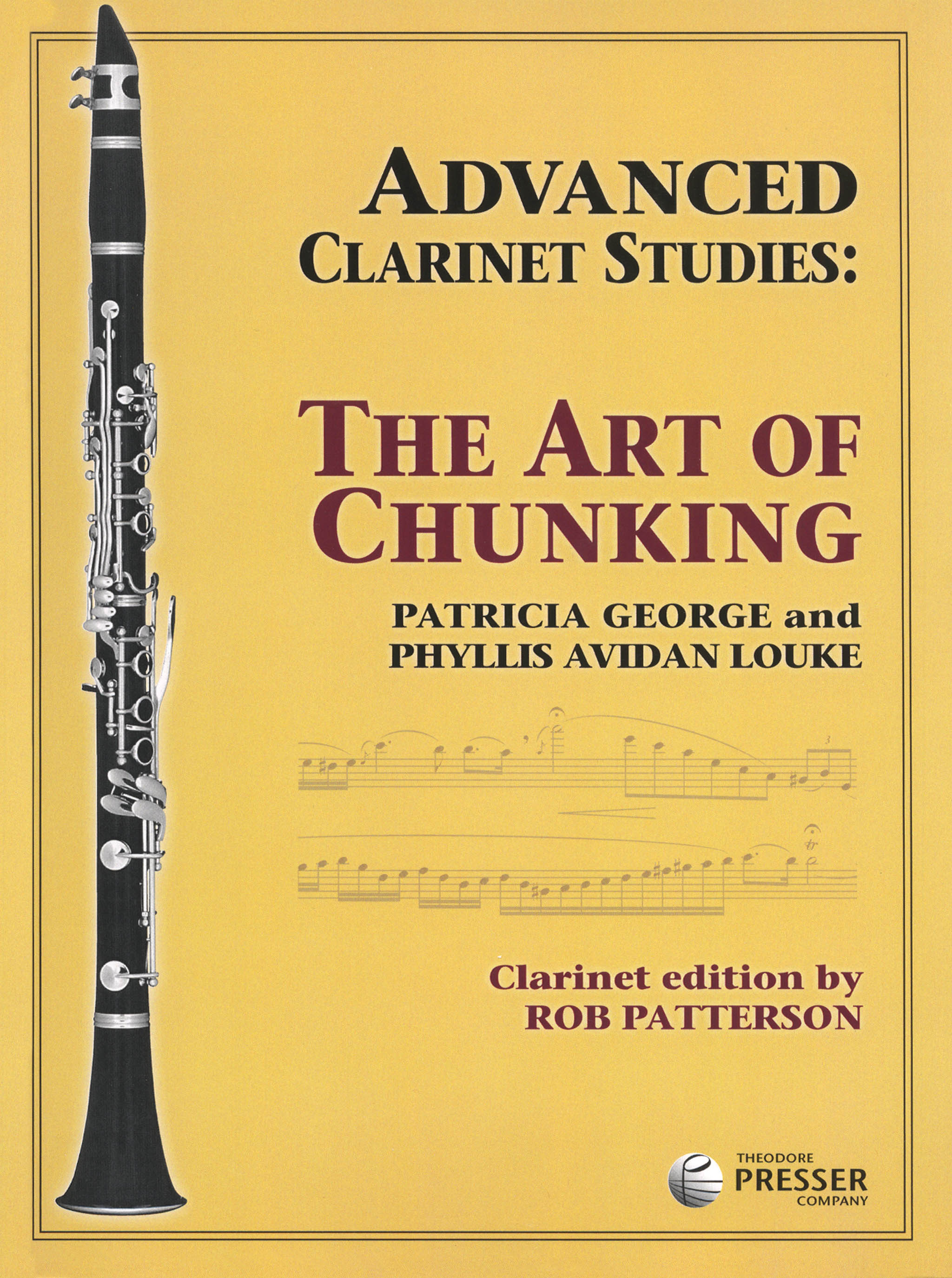 Advanced Clarinet Studies: The Art of Chunking Cover