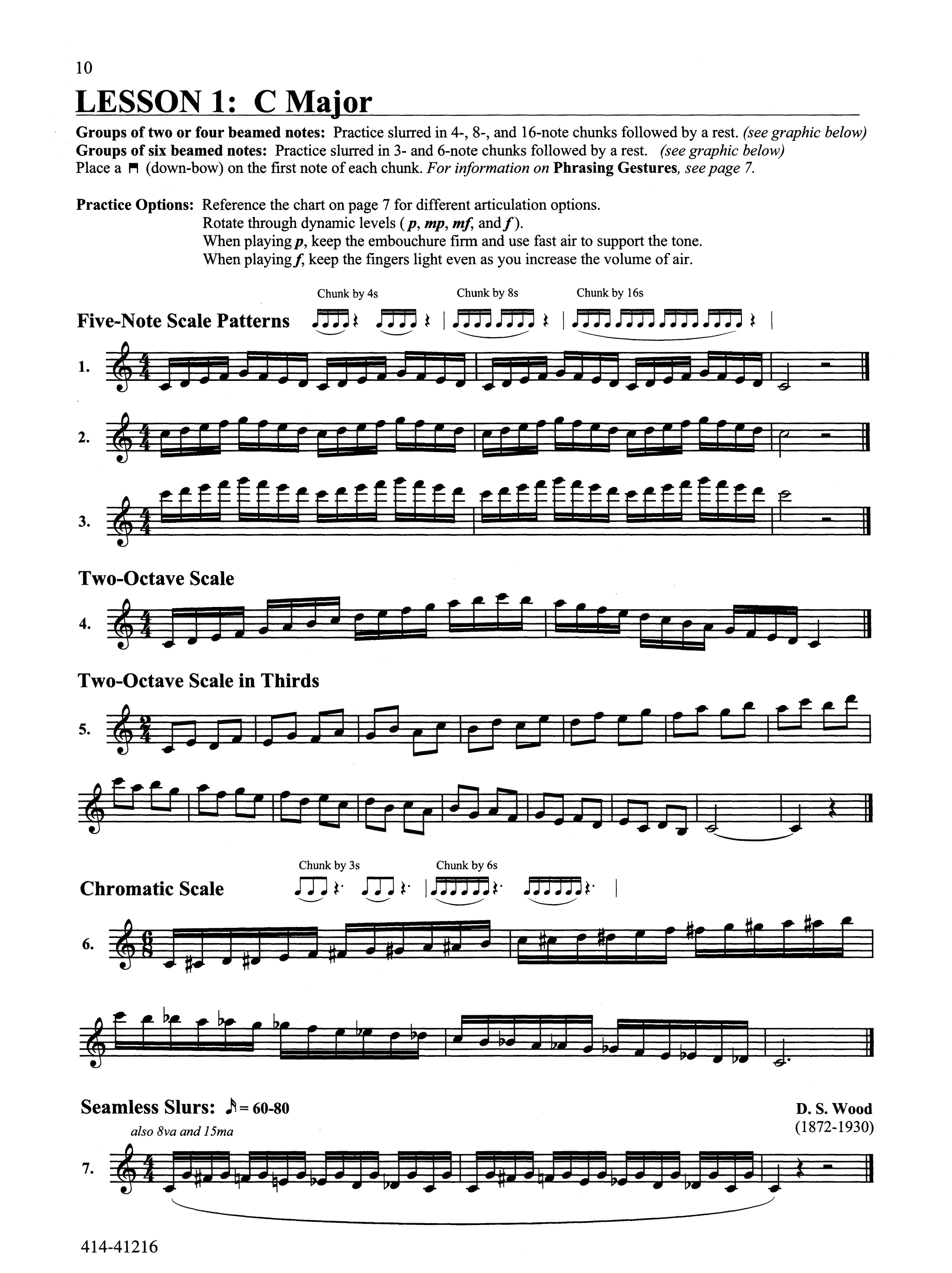 Advanced Clarinet Studies: The Art of Chunking Page 10