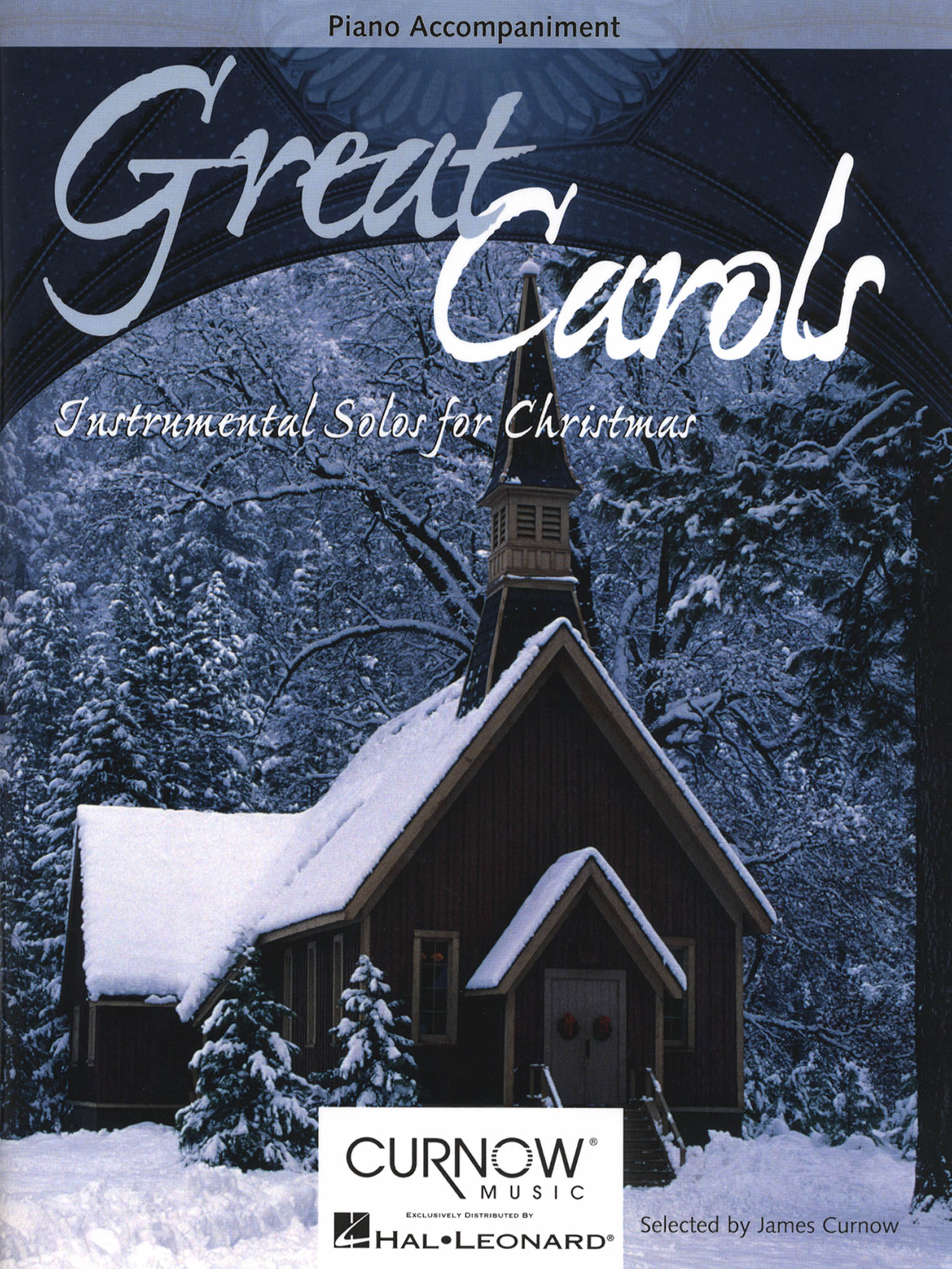 Great Carols for Clarinet & Piano Accompaniment Cover