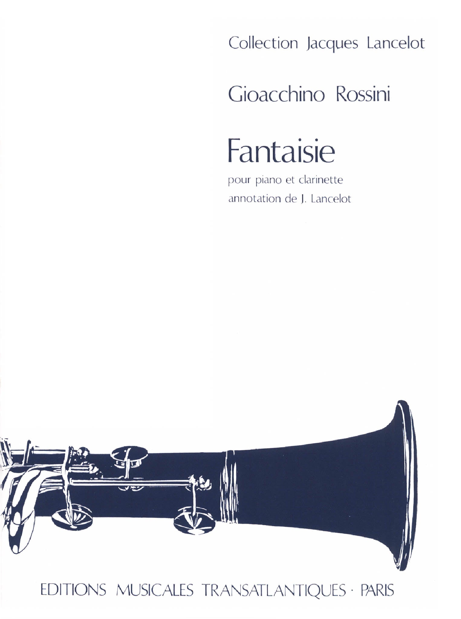 Rossini Fantasy Cover