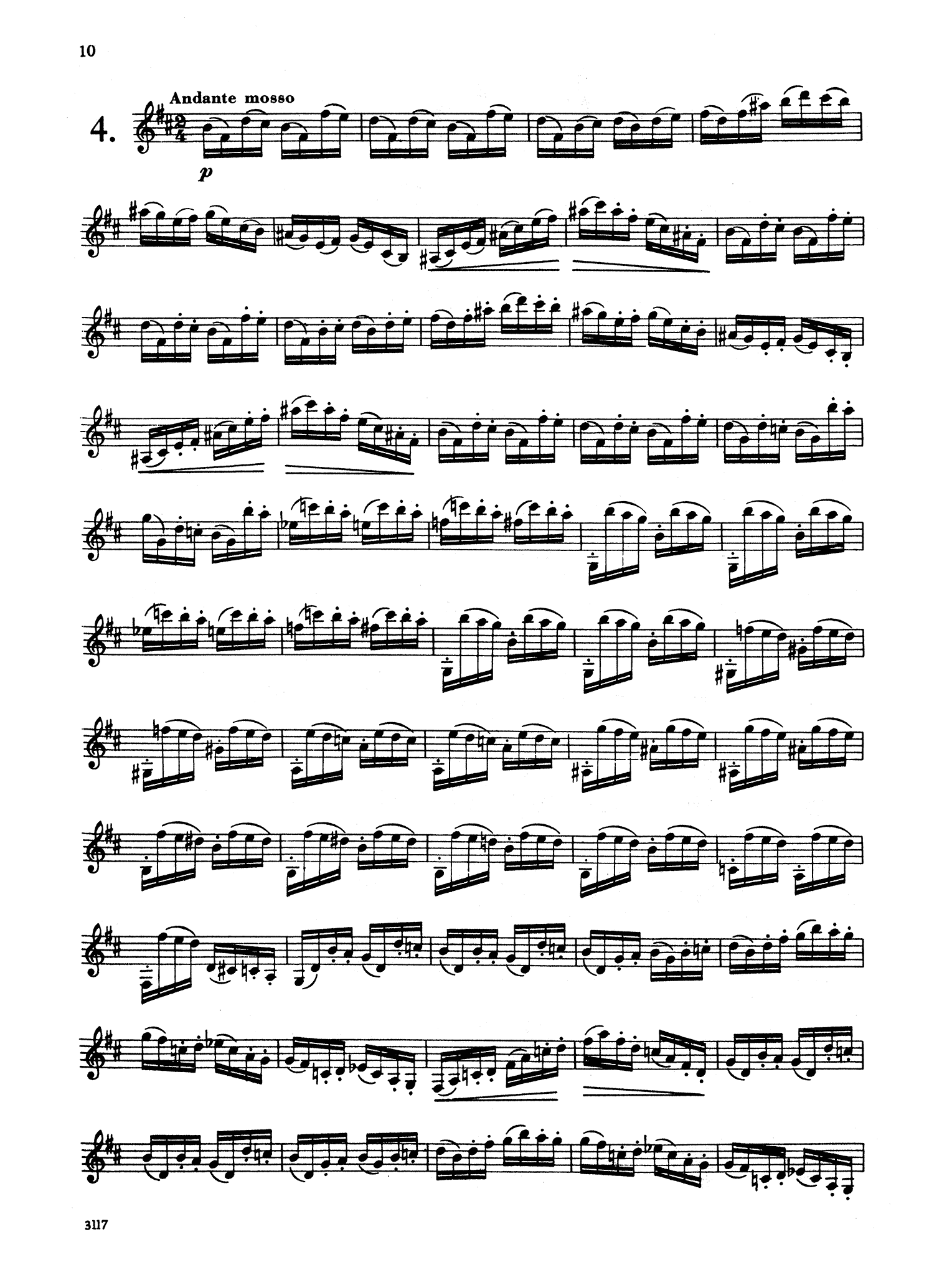 30 Caprices for Clarinet Page 10