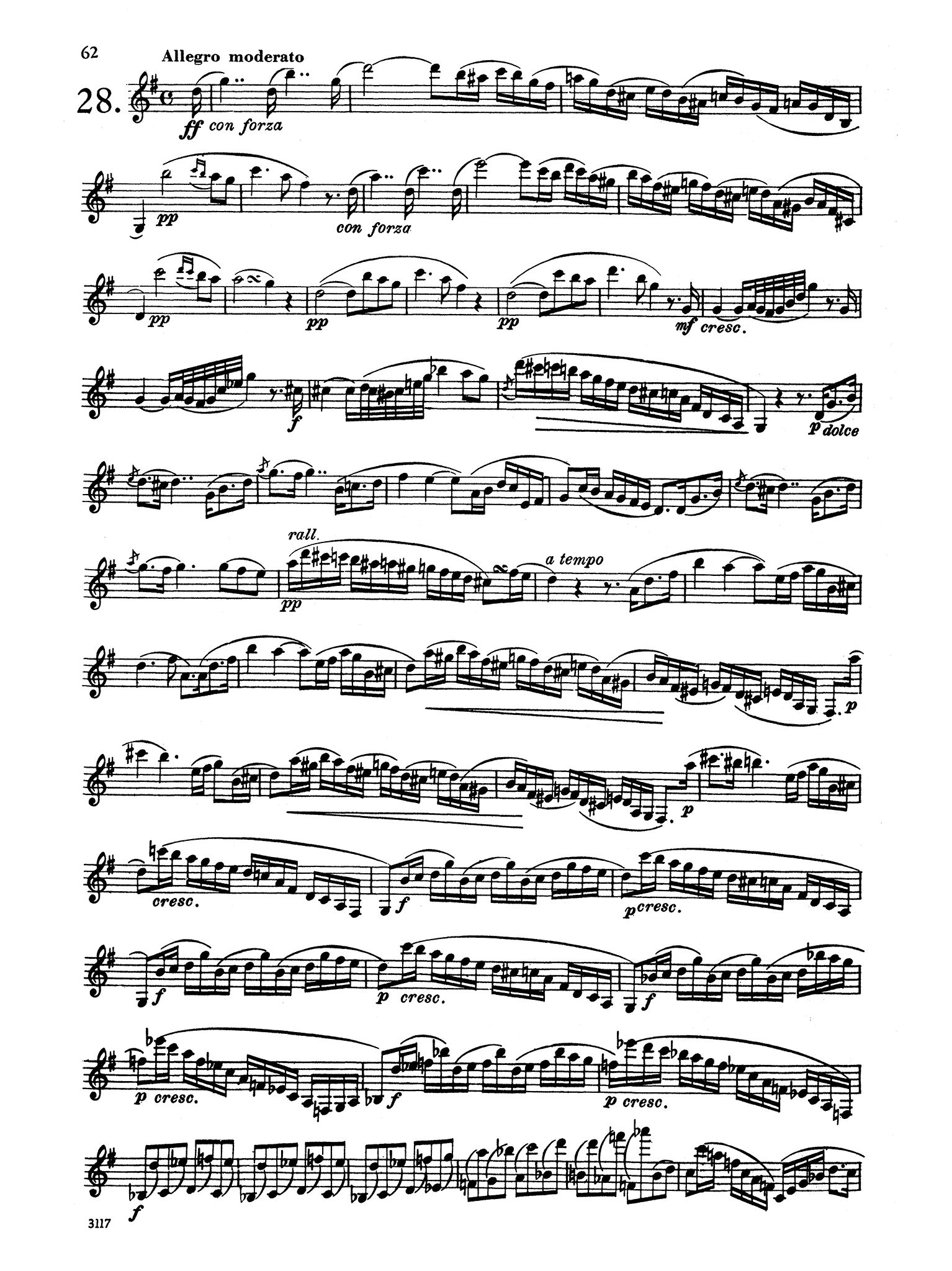 30 Caprices for Clarinet Page 62