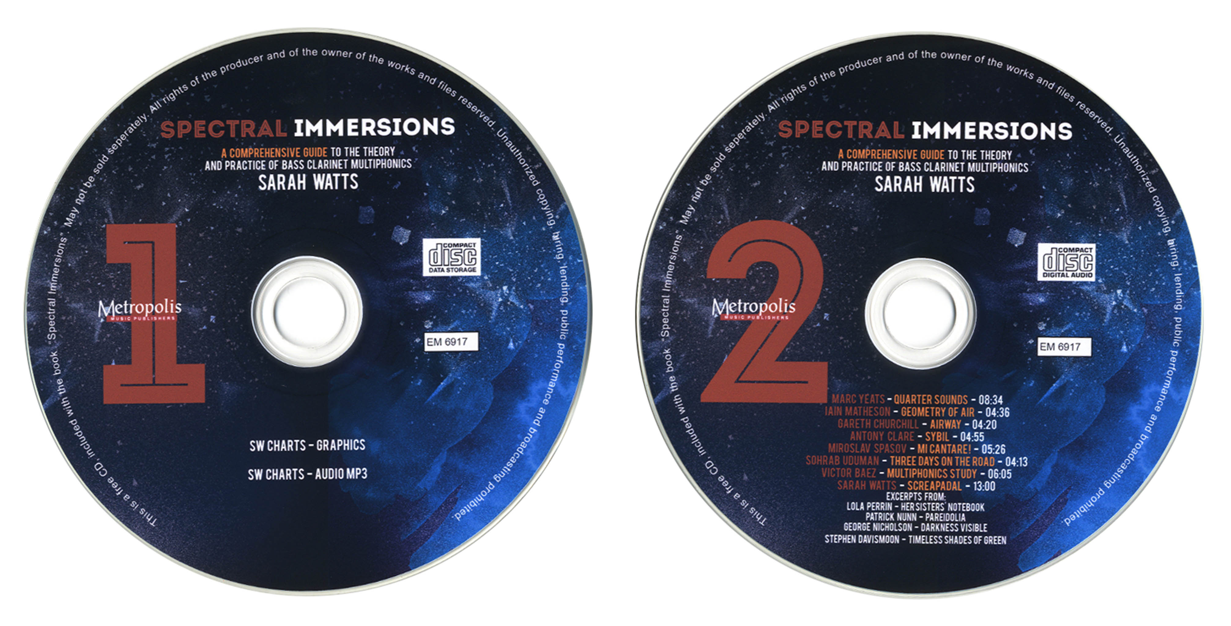 Spectral Immersions Audio CDs