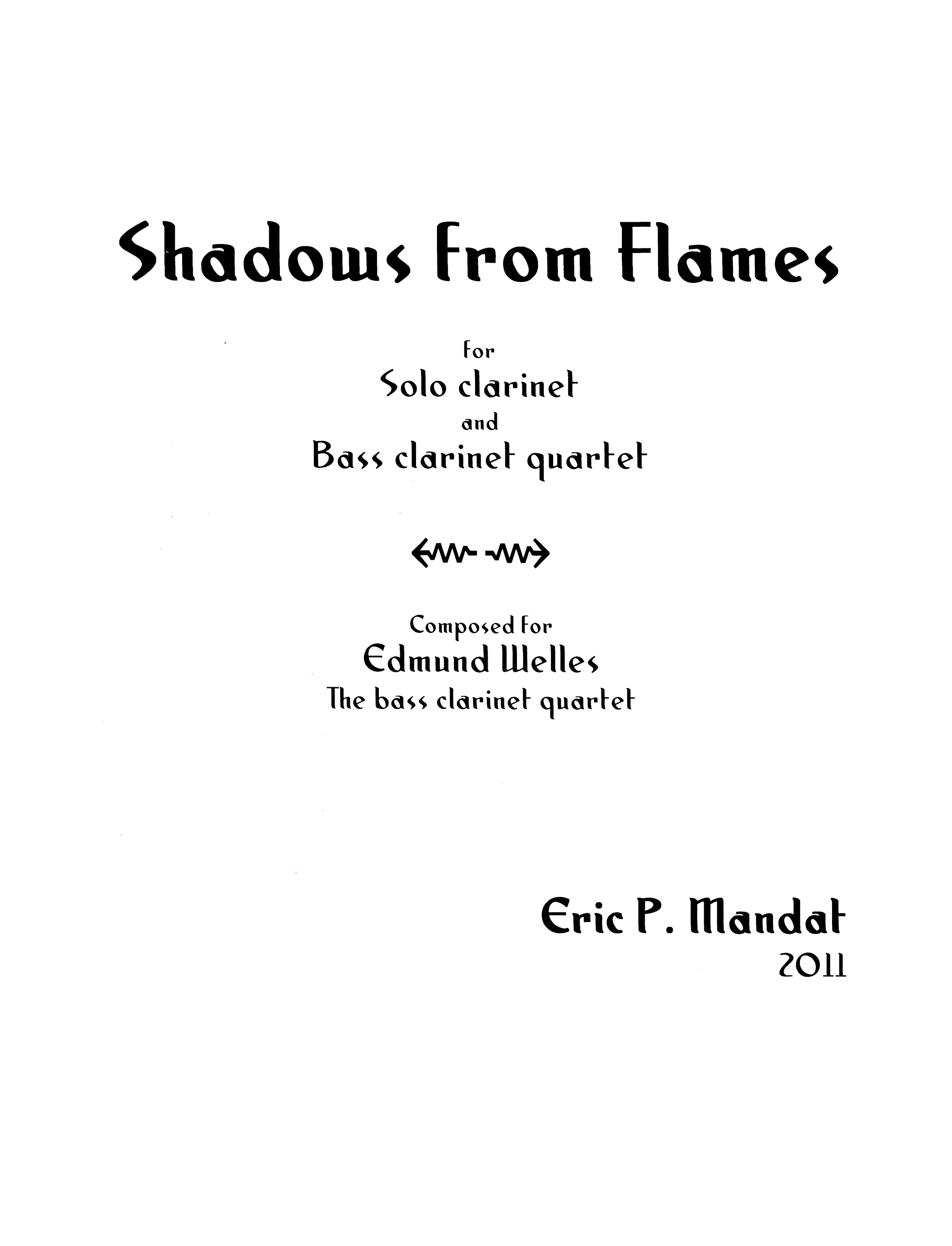 Mandat Shadows from Flames Cover
