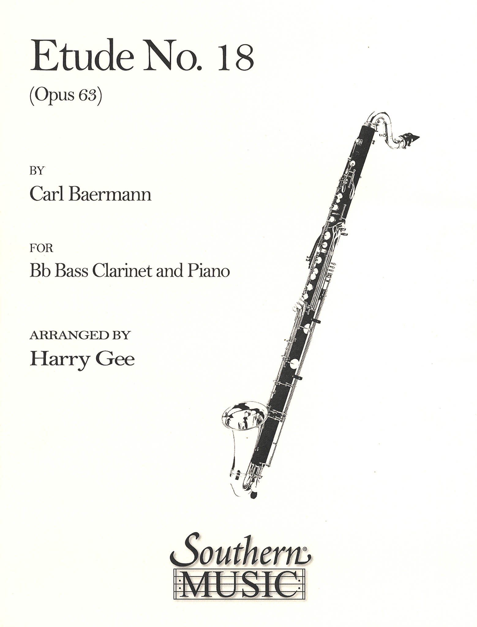 Clarinet Method, Op. 63, Div. II No. 18 Cover