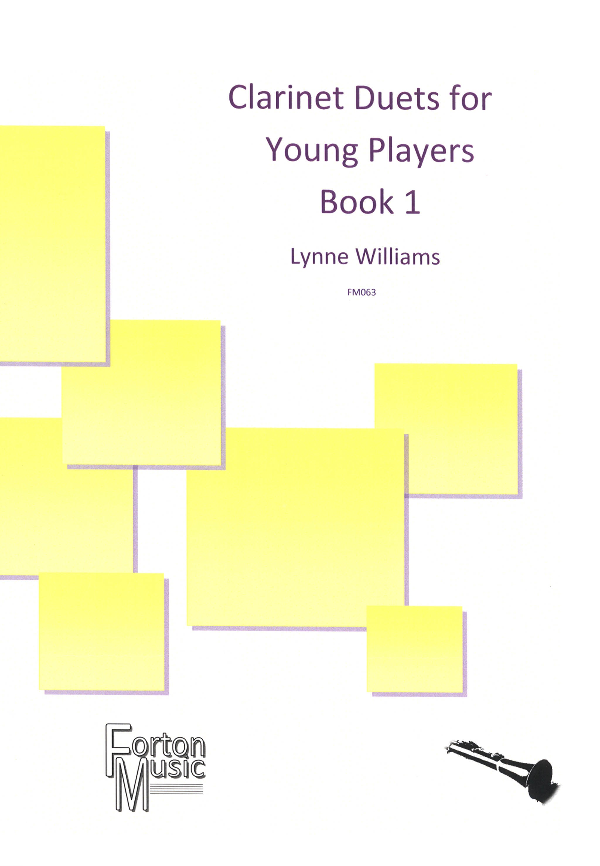 Clarinet Duets for Young Players, Book 1 Cover
