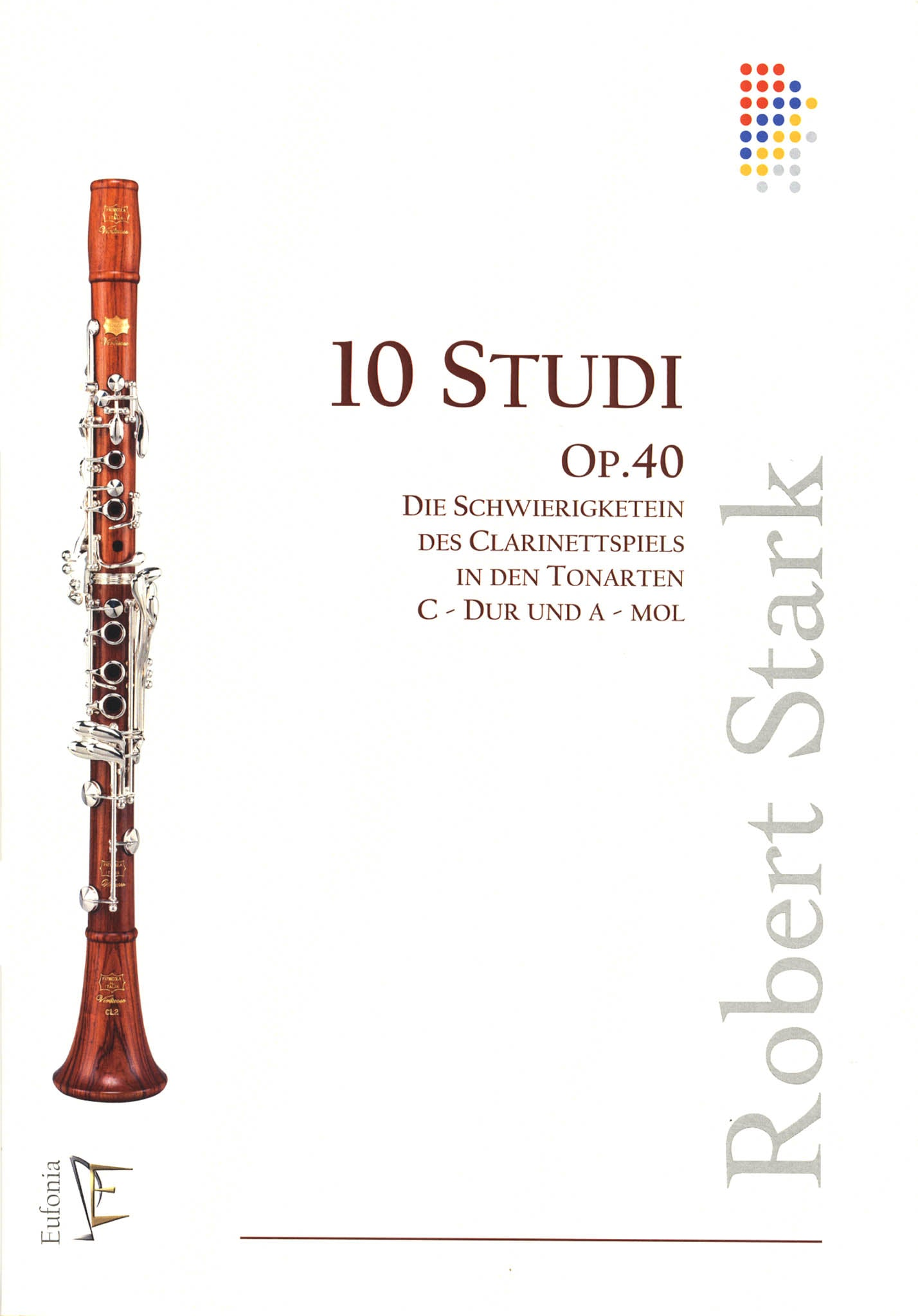 10 Studies, Op. 40 Cover