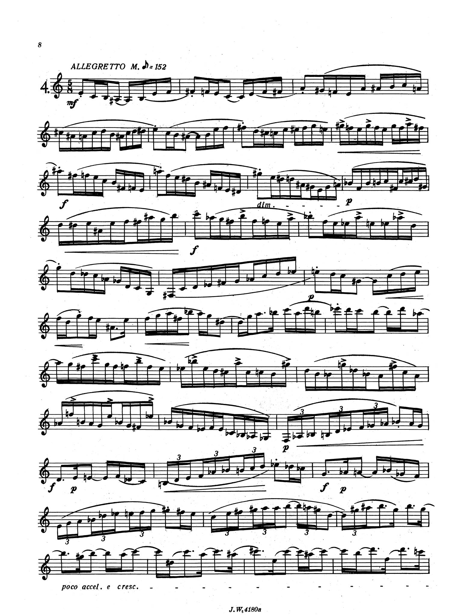 Preliminary Studies to The Accomplished Clarinettist, Book 2 Page 8
