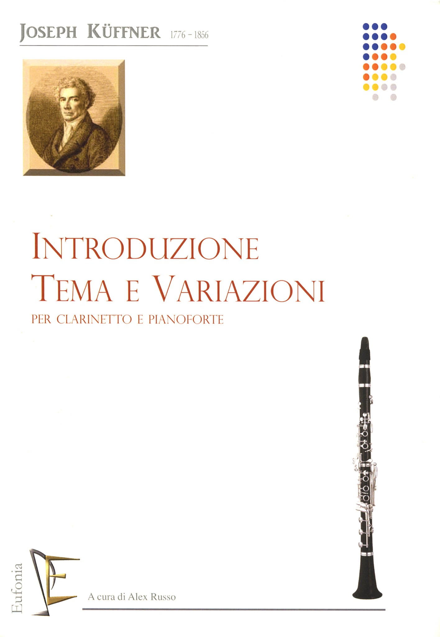 Introduction, Theme & Variations, Op. 32 Cover