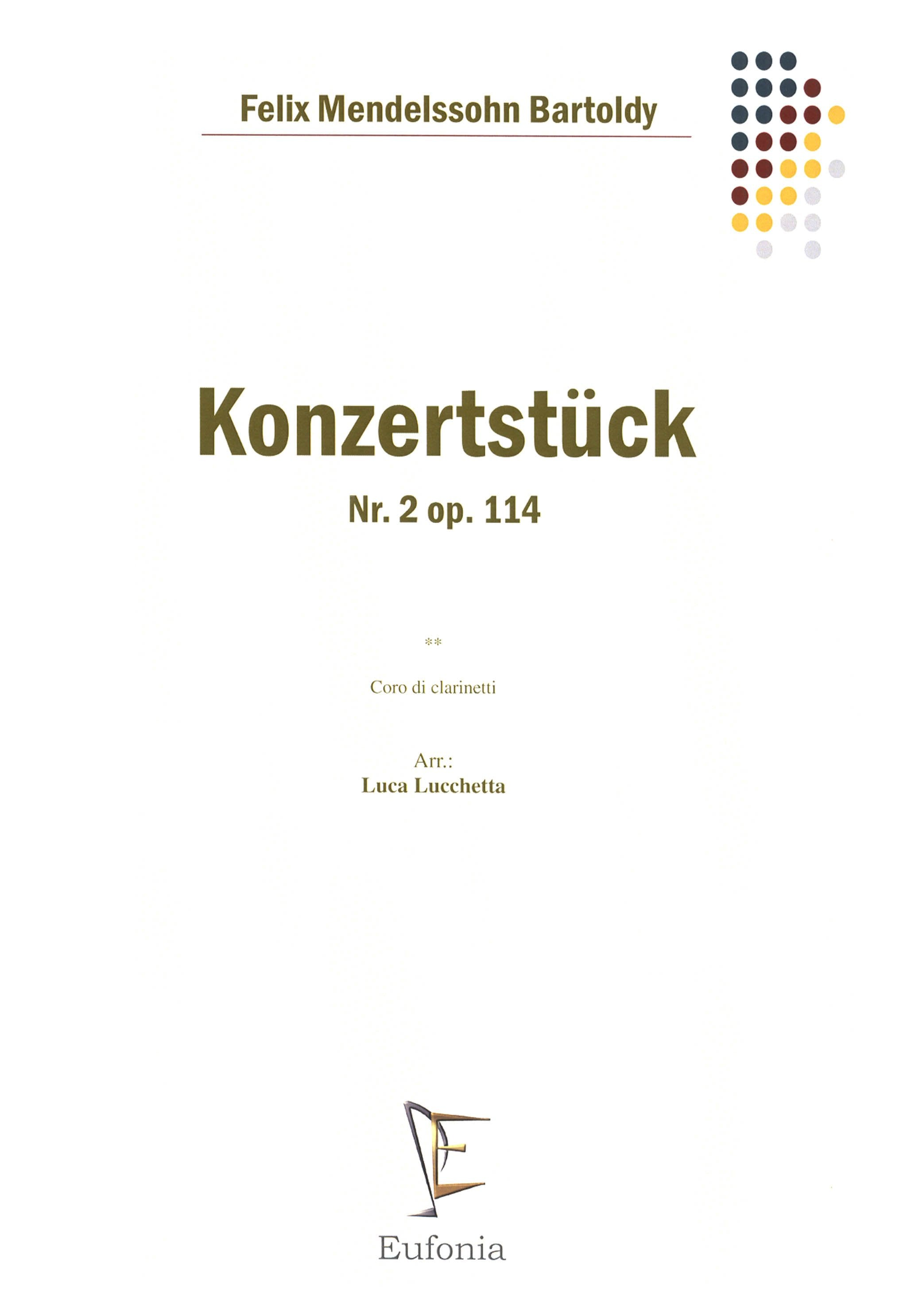 Konzertstück No. 2 in D Minor, Op. 114 Cover