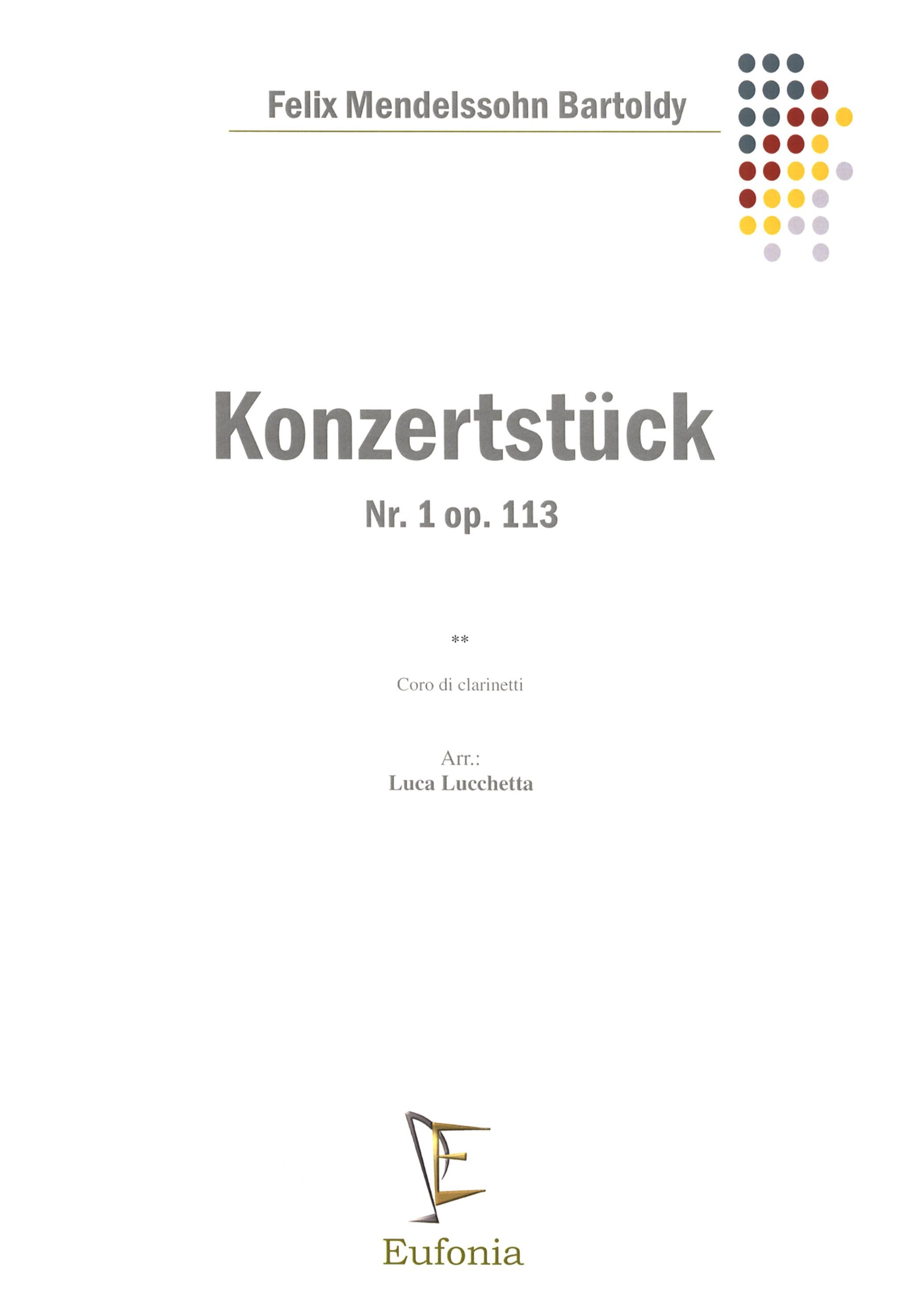 Konzertstück No. 1 in F Minor, Op. 113 Cover