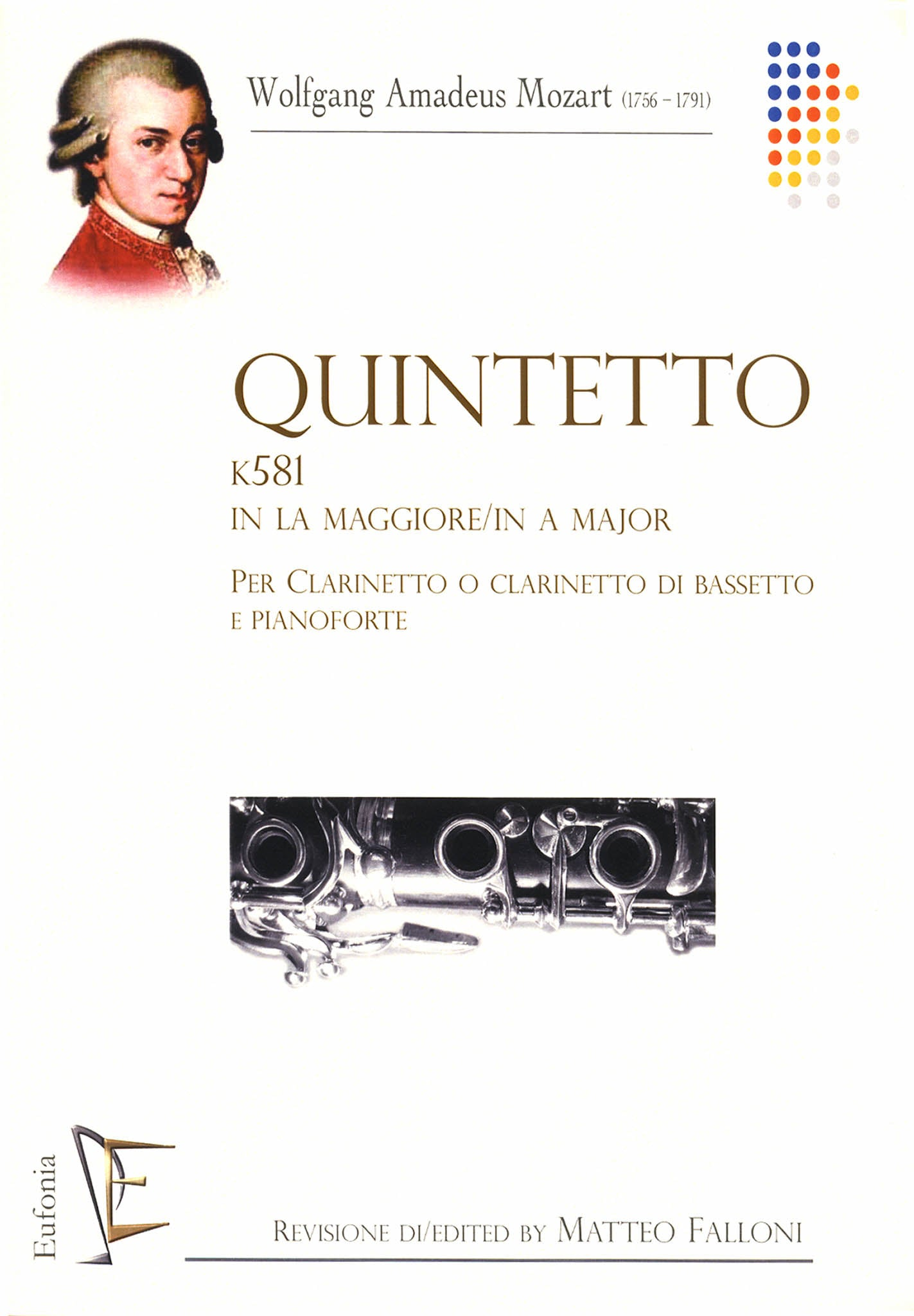 Clarinet Quintet, K. 581 Cover