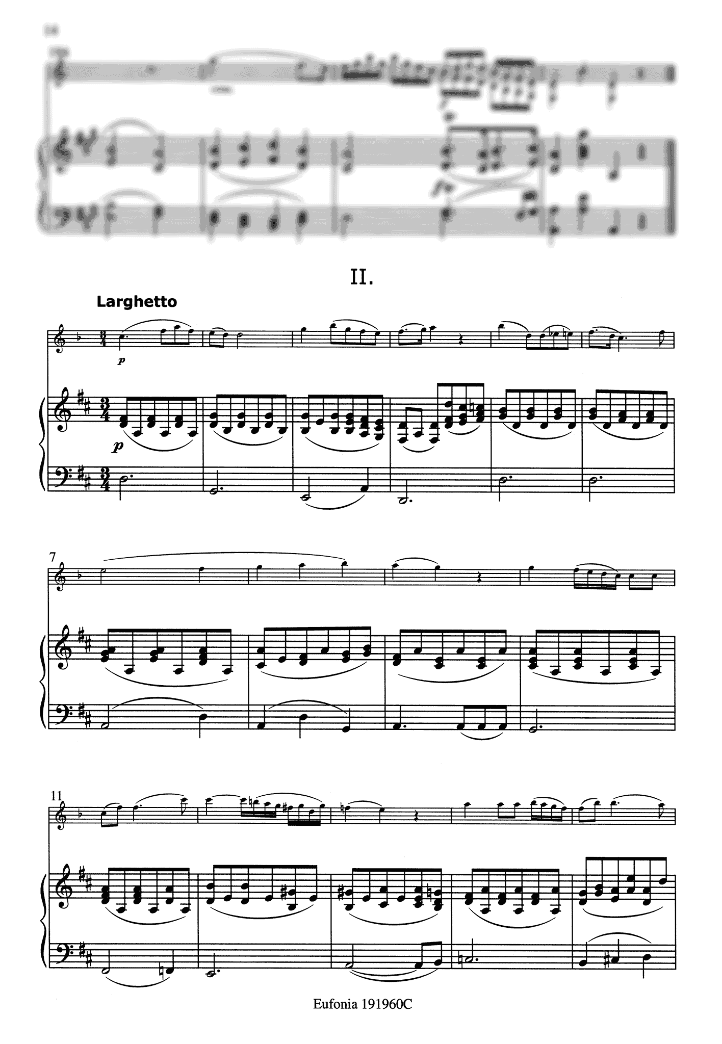 Clarinet Quintet, K. 581 - Movement 2
