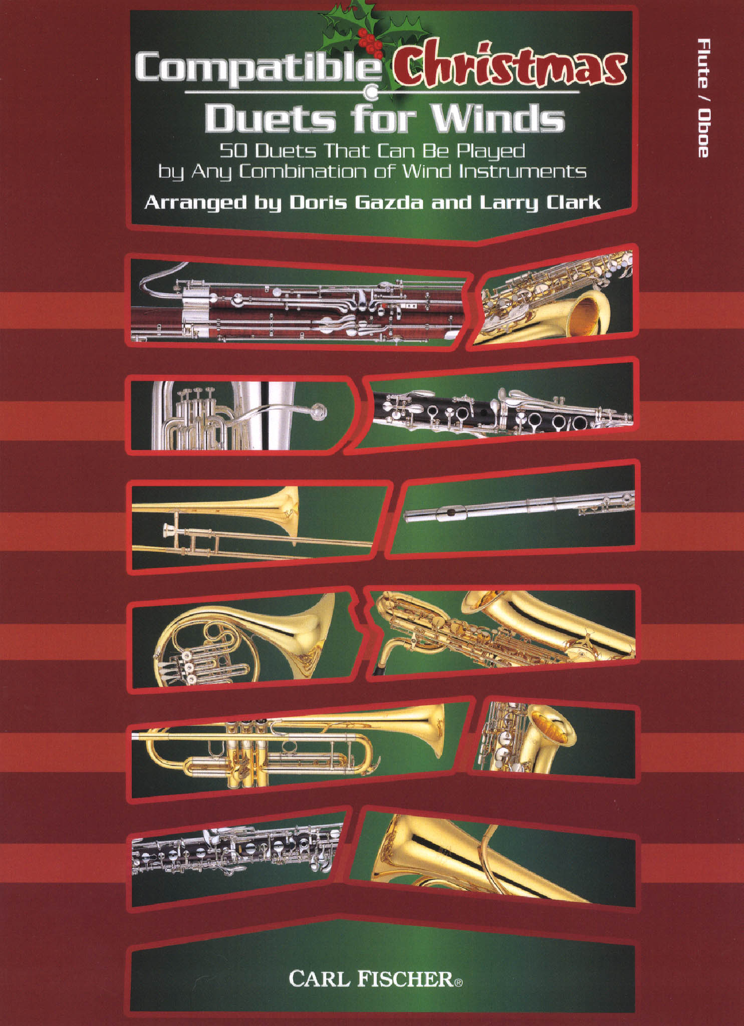 Compatible Christmas Duets for Flute Cover