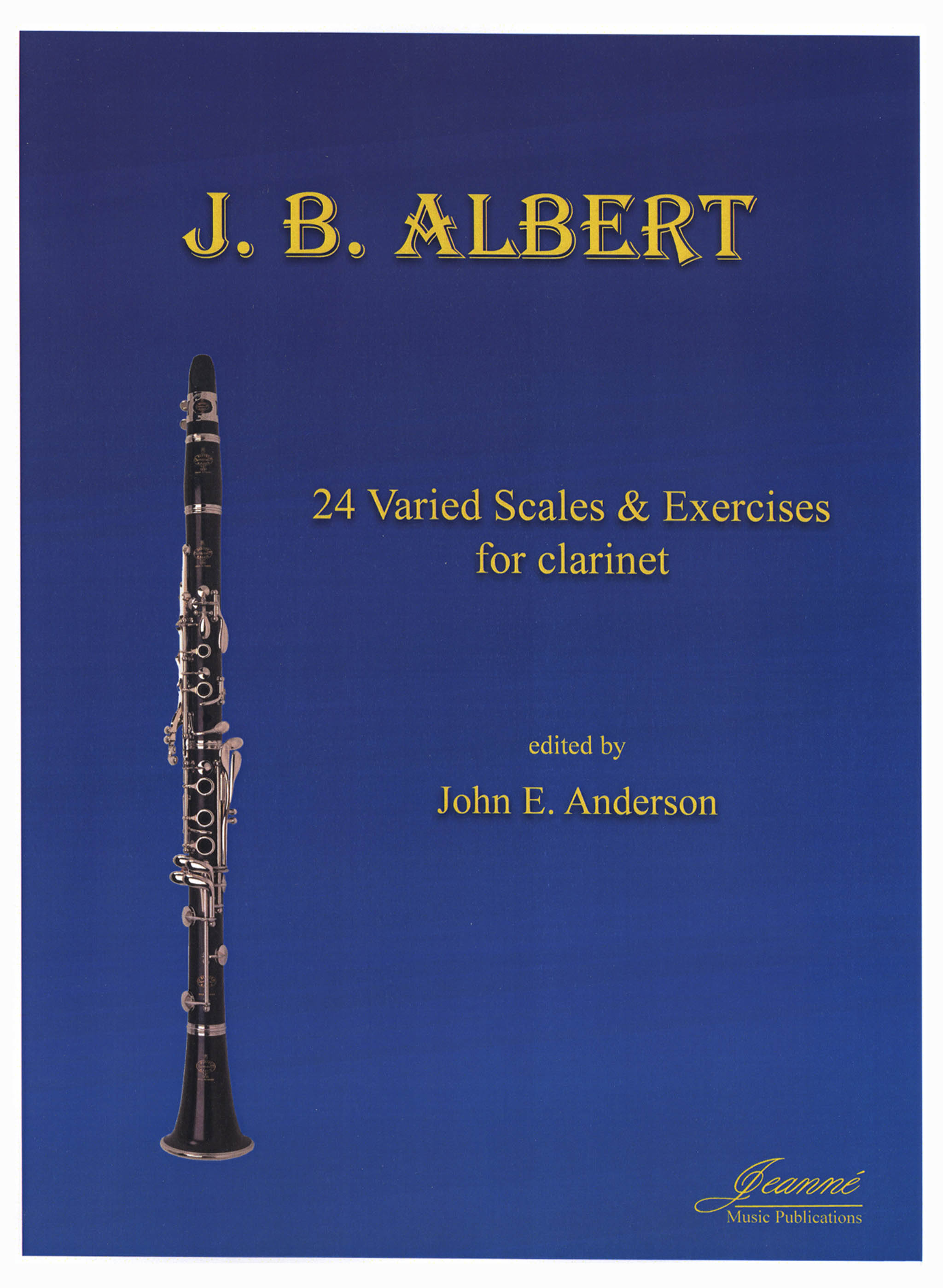 Albert 24 Varied Scales & Exercises for the Clarinet Cover