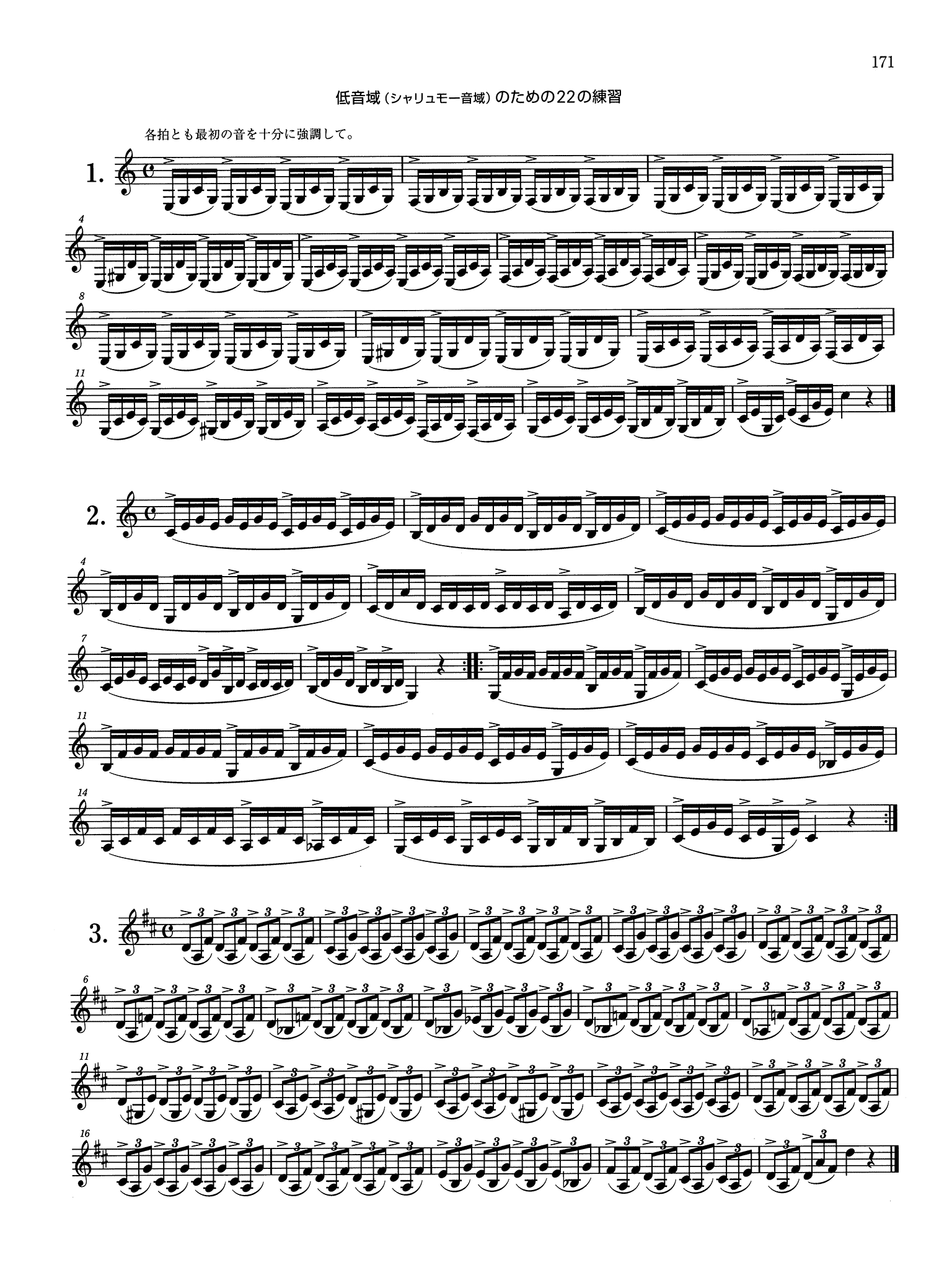 Klosé Complete Clarinet Method Page 171