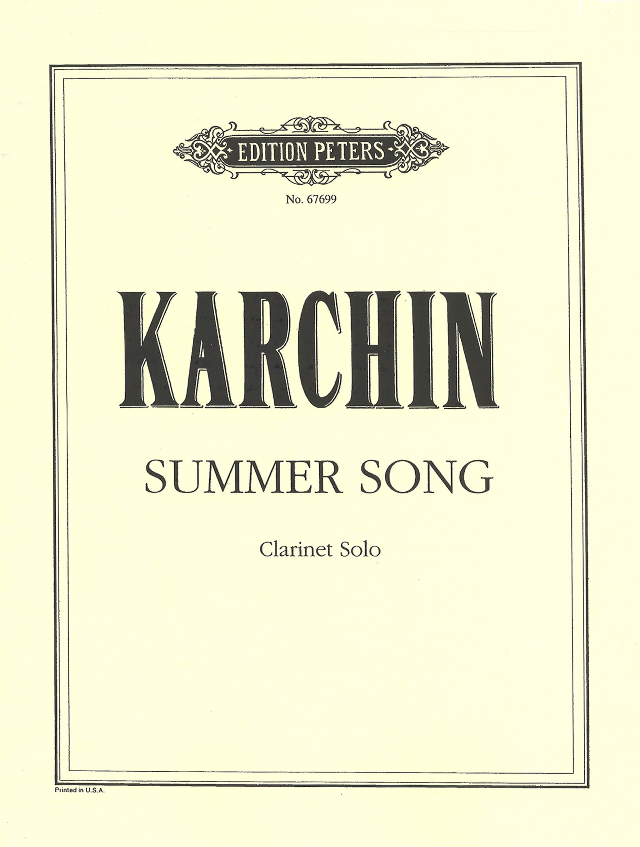 Karchin Summer Song Cover