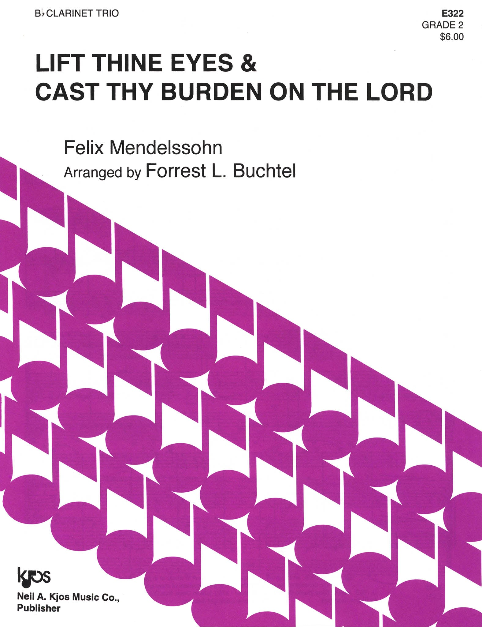 Lift Thine Eyes / Cast Thy Burden on the Lord, from Elijah, Op. 70 Cover