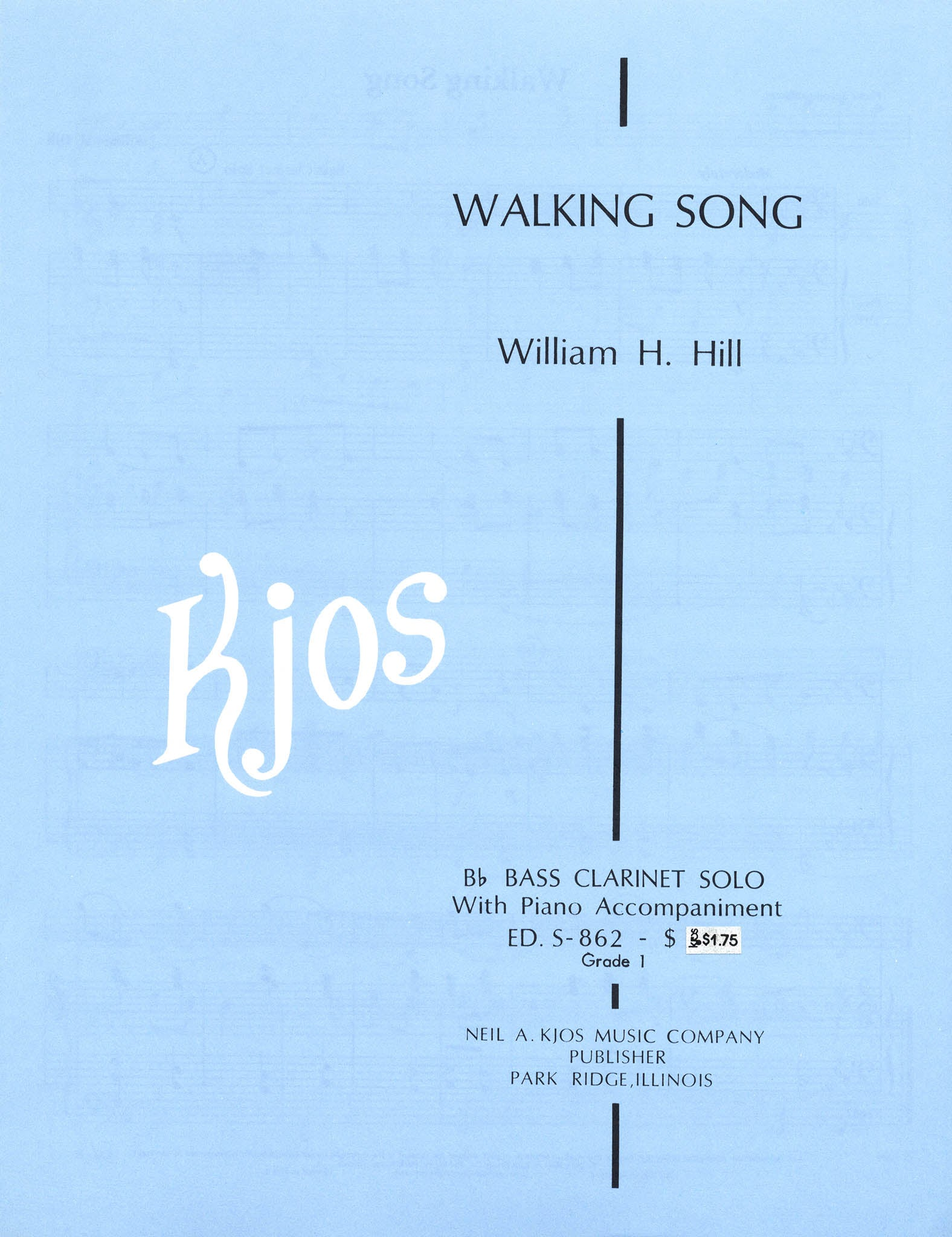 Walking Song Cover
