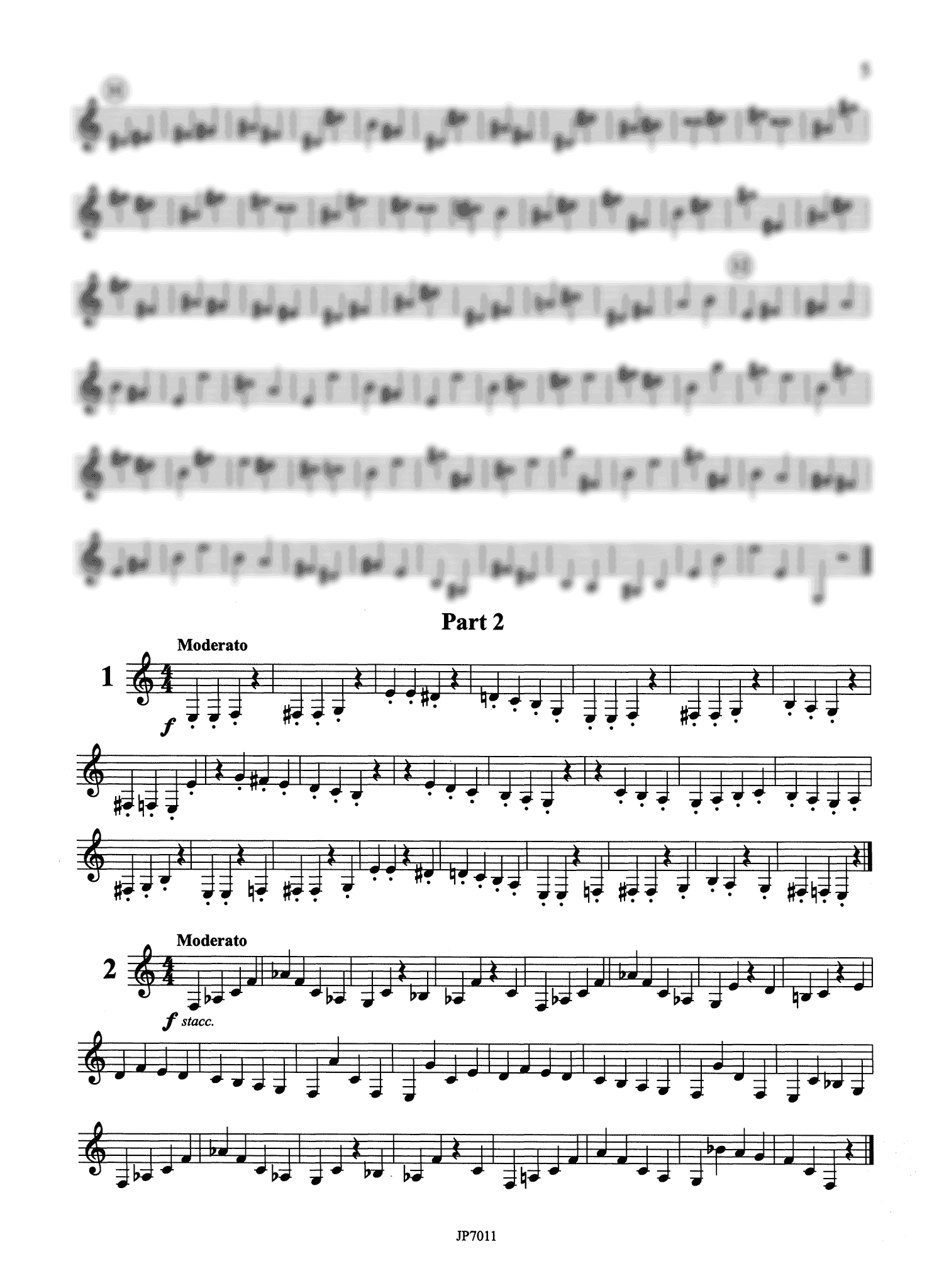Stark Practical Clarinet Staccato School, Op. 53 Book 1 Page 5