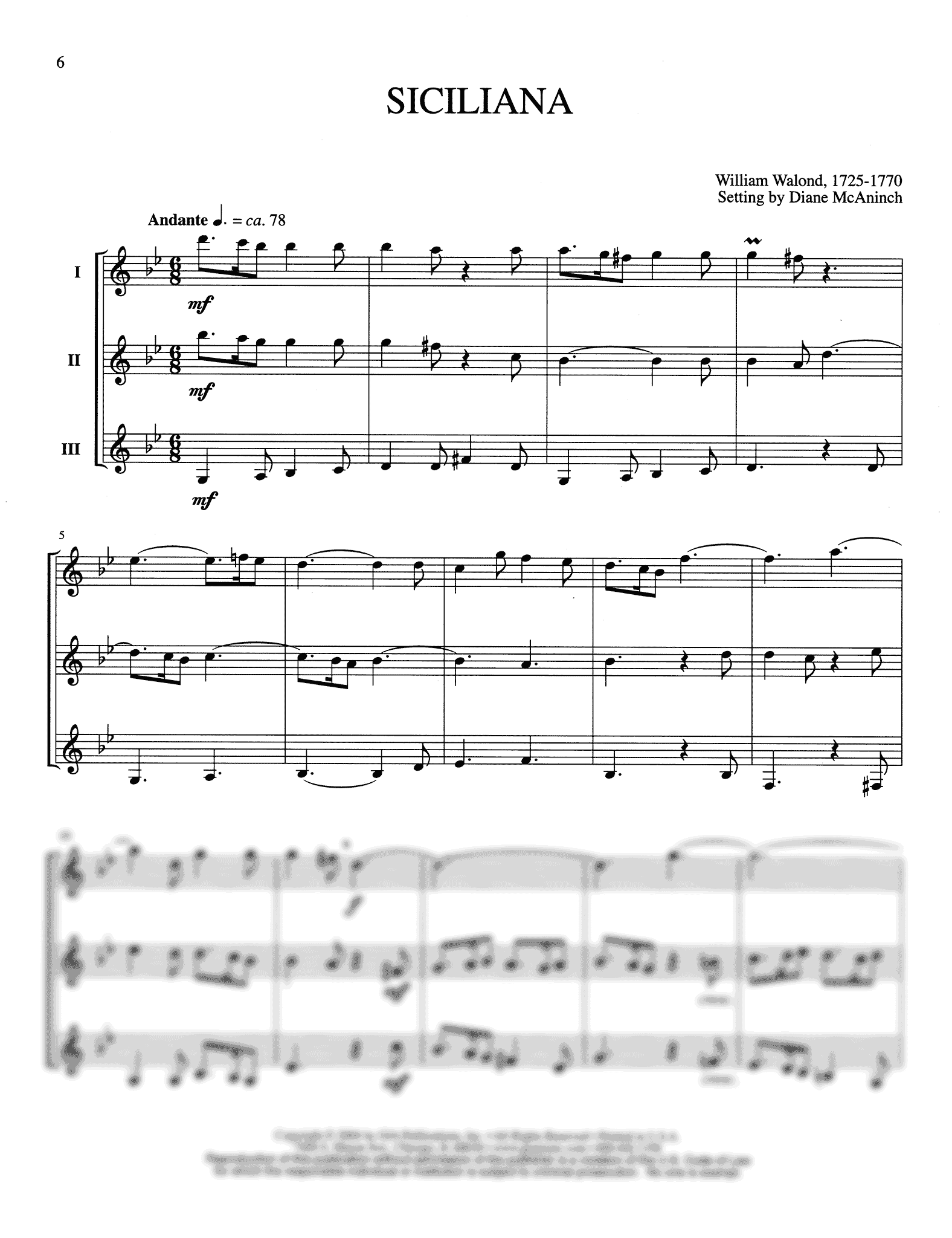 Four Meditations for Woodwind Trio Page 6