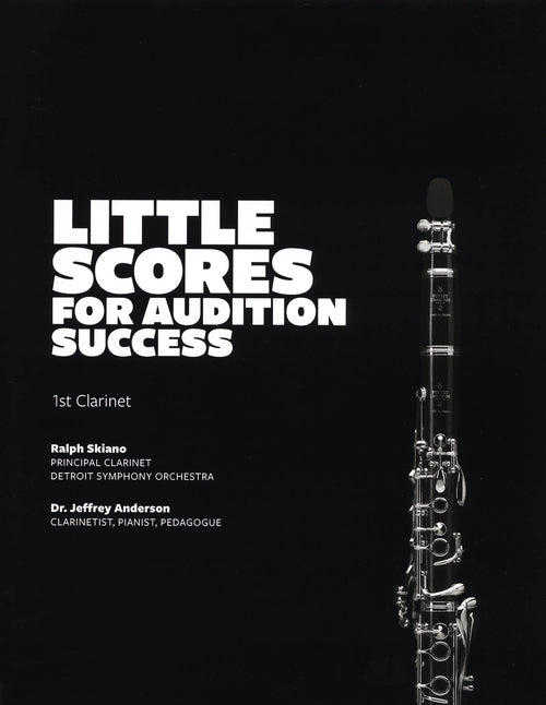 Ralph Skiano Little Scores for Audition Success Cover