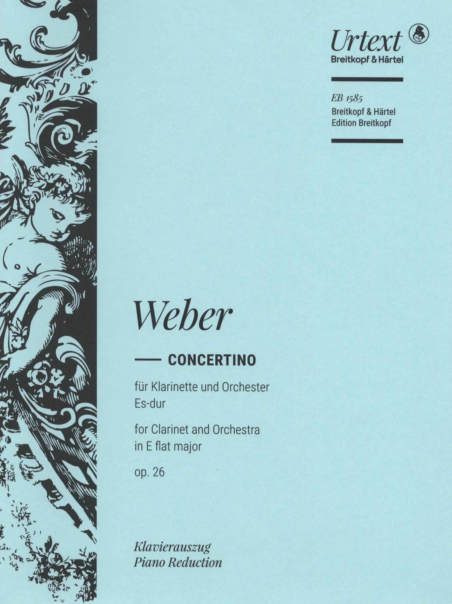 Concertino in E-flat Major, Op. 26, J. 109 Cover