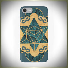 Crop Circle star phone case