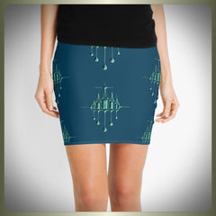 Ethereal City mini skirt