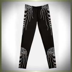 Crop Circle squid leggings