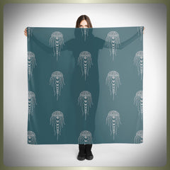 Crop Circle squid scarf