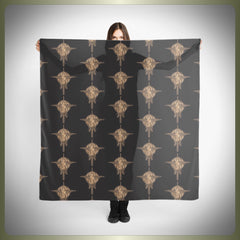 Crop Circle bird scarf
