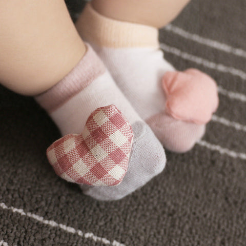 2 Pairs/lot Baby girl boy socks newborn Cotton socks 0-12M socks floor anti-slip chaussettes bebes nina menino meias calcetines