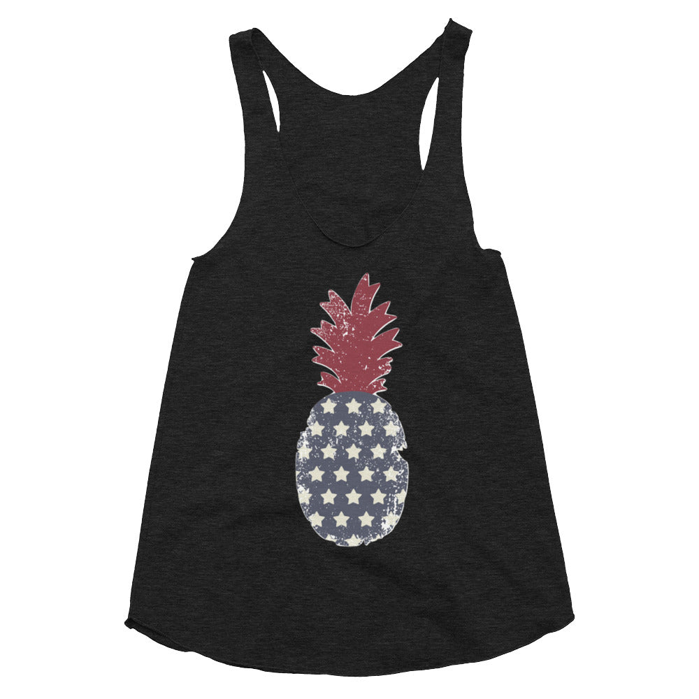Stars and Stripes Pineapple Tank - Maoli Life