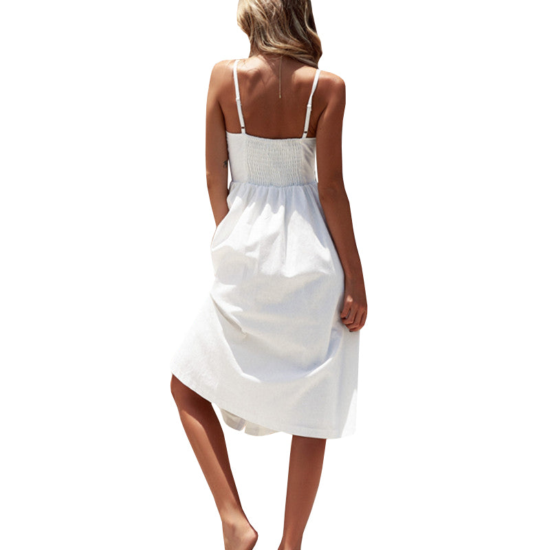 Honolulu Backless Midi Dress - Maoli Life