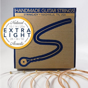 Stringjoy Natural Extra-Light Strings