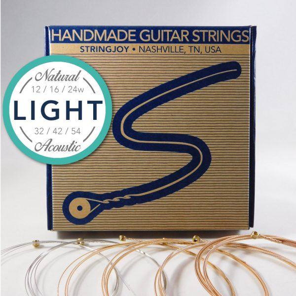 Stringjoy Light Natural Bronze Strings
