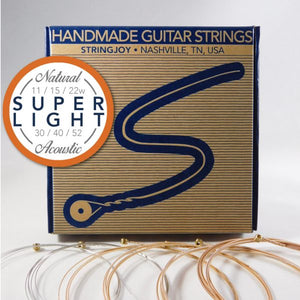 Stringjoy Natural Super-Light Strings